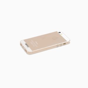 1.2MM Transparent Silicone Case For iPhone 5 / 5S / SE - Transparent