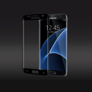 3D Curve Edge to Edge Tempered Glass Screen Protector For Samsung Galaxy S7 Edge - Black