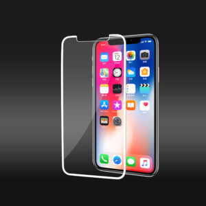Full Coverage Tempered Glass Screen Protector For iPhone X