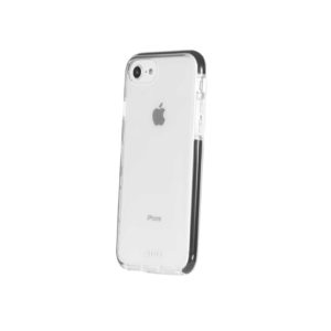 Military Grade Anti-Shock Protective Back Cover For iPhone 6 / 6S / 7 / 8 - Transparent