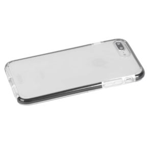 Military Grade Anti-Shock Protective Back Cover For iPhone 7 Plus / 8 Plus - Transparent