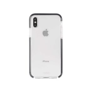 Military Grade Anti-Shock Protective Back Cover For iPhone X - Transparent