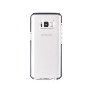 Military Grade Anti-Shock Protective Back Cover For Samsung Galaxy S8 - Transparent