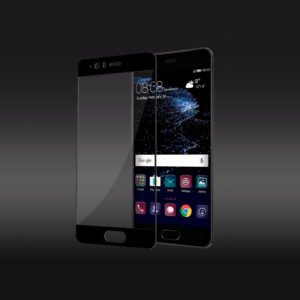 Full Coverage Tempered Glass Screen Protector For Huawei P10 - Black